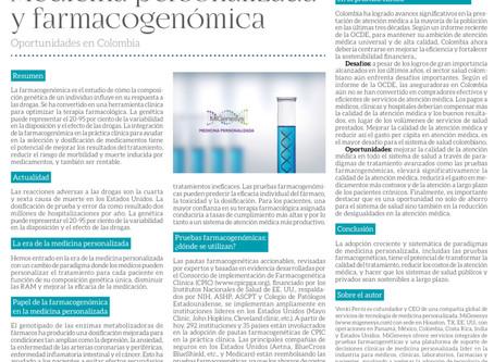 Medicina Personalizada y Farmacogenómica en Colombia