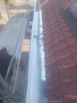 Couvreur : Changement toiture tuile terre cuite et chêneaux Wingles 62