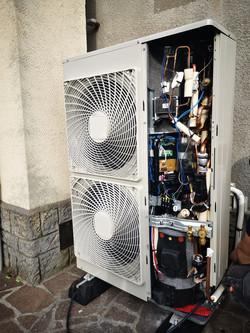 Mise en service Pompe à chaleur Air/eau Daikin
