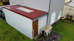 Réparation toiture bac acier garage Lievin