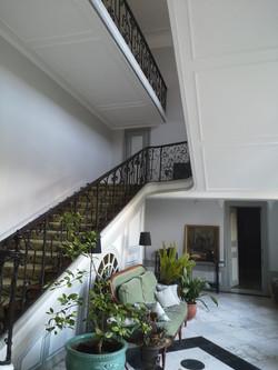 Hall d'entrée - enduits et peinture
