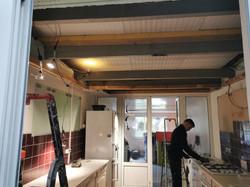 préparation du plafond