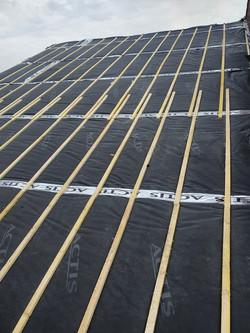 Remplacement isolation et toiture tuile terre cuite Fretin 59