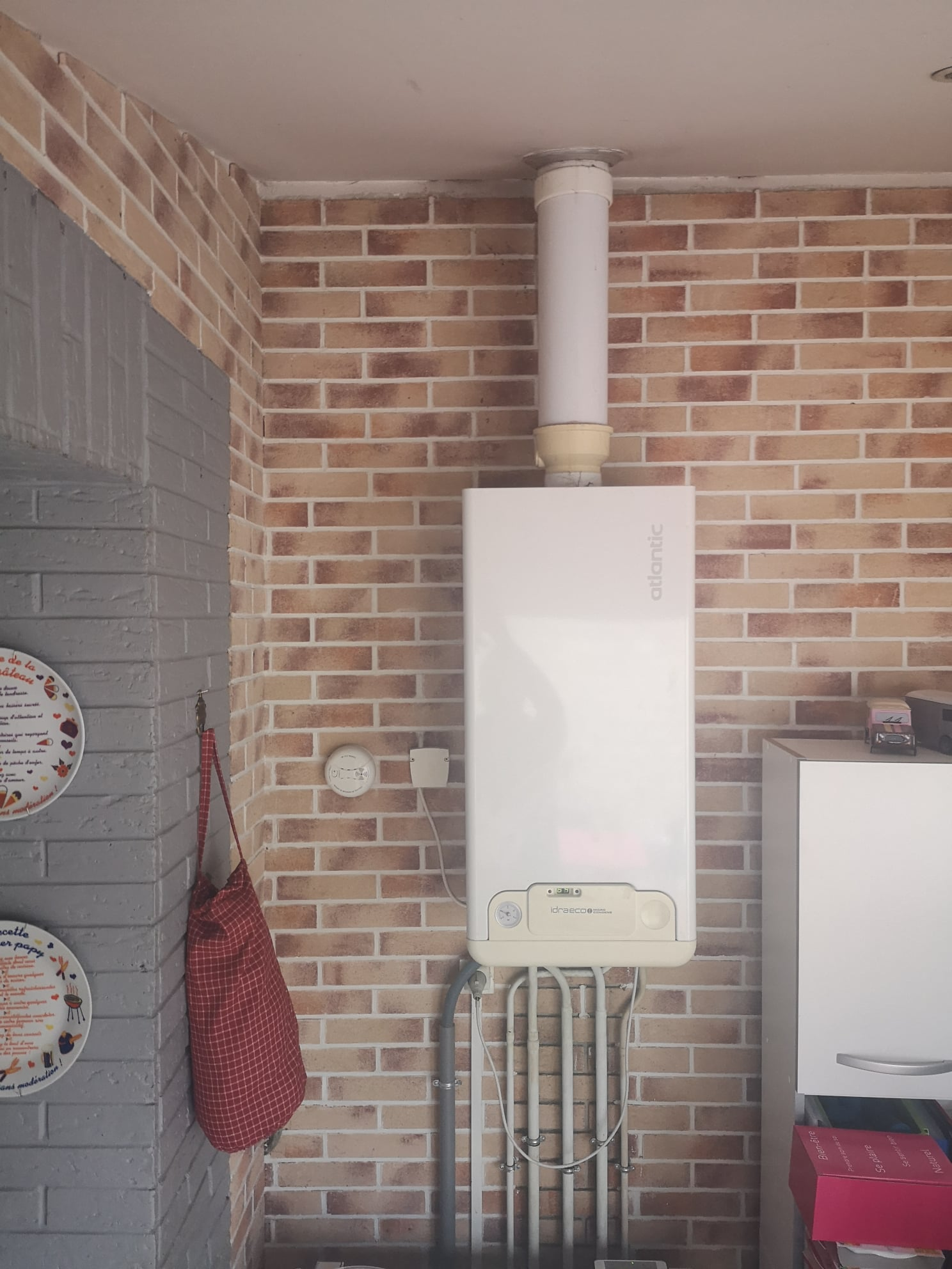 Remplacement d'une chaudière gaz murale