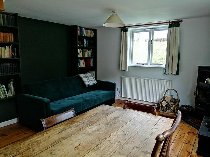 Open plan sitting room.