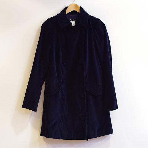 Manteau en velours - Agnès B - T.34