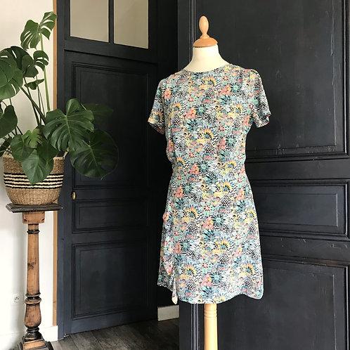 Robe en soie - Sessun - T.M