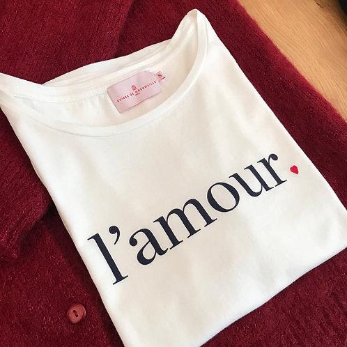 Résa - tee shirt amour