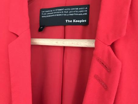 Un jour, une pièce : Veste The Kooples