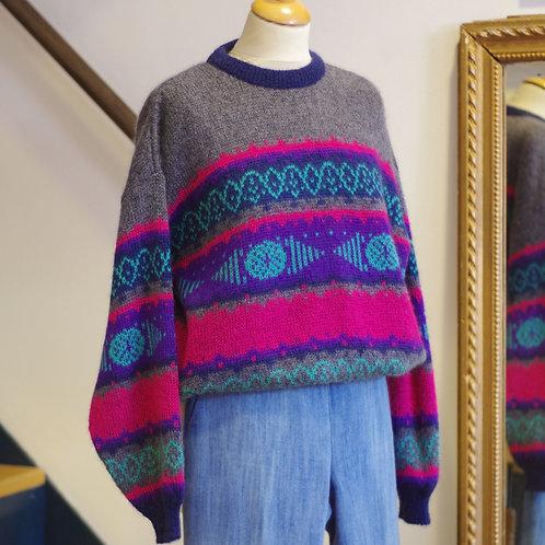 Pull en laine - Vintage - T.1/2
