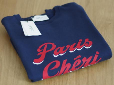 Un jour, une pièce : Sweat Paris Chéri ba&sh