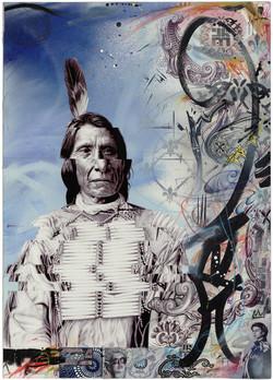 """""""Red Cloud Standing Rock"""""""