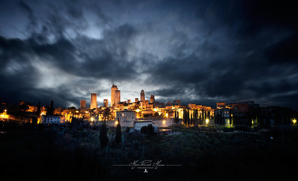 San Giminiano photo by Mario Piercarlo Marino