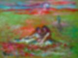 Andrew Vicari, sunrise, oil painting