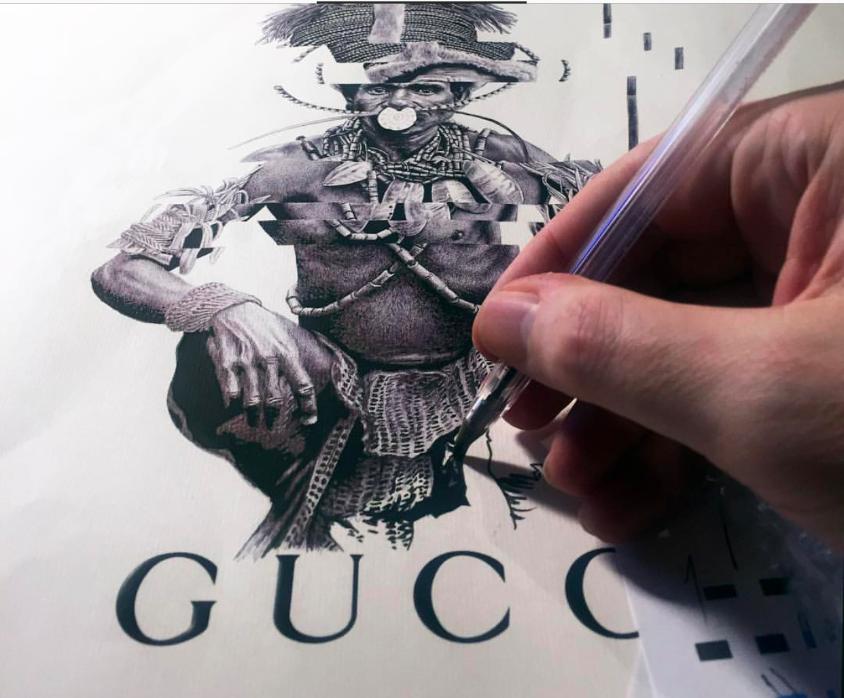 """Fading Tribalism on Gucci II"""