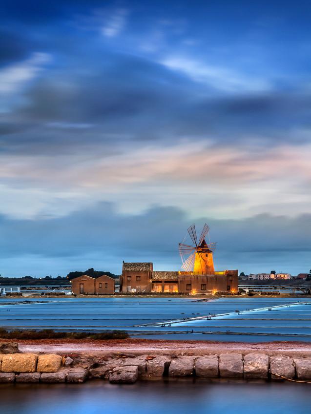 Sicily Italy windmill photo by Mario Piercarlo Marino