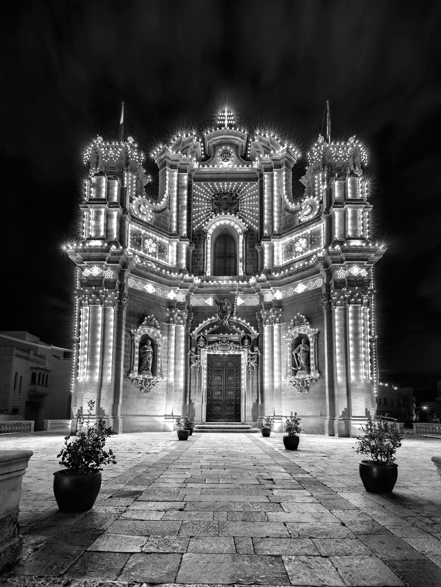 Malta - Gozo Church By Mario Piercarlo M