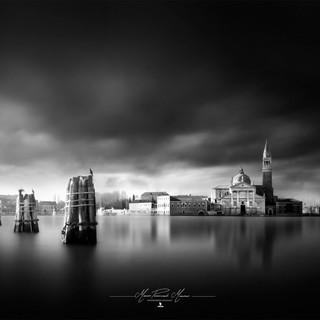 Venice Black & White by Mario Piercarlo Ma