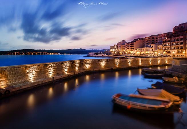 Malta-ora blu photo by Mario Piercarlo Marino