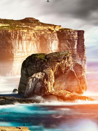 Mushroom Rock Gozo photo by Mario Piercarlo Marino