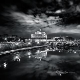 Ponte Sant' Angelo Roma by Mario Piercarlo Marino