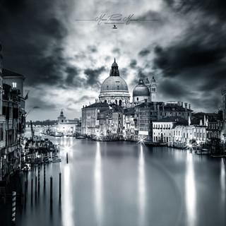 Santa Maria della Salute Venezia by Mario Piercarlo Marino