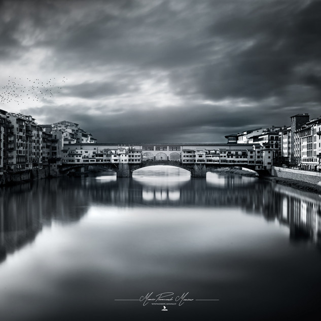 Ponte Vecchio Firenze by Mario Piercarlo Marino