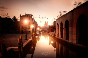 Venezia sunrise photo by Mario Piercarlo Marino