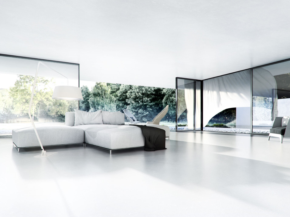 L-house interiors