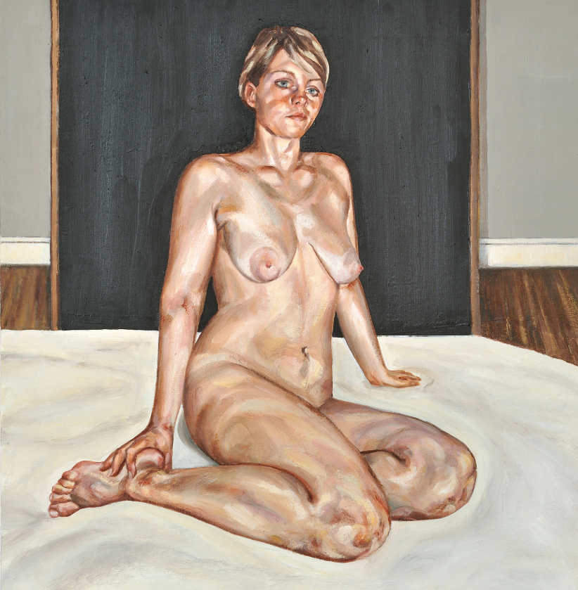 'Girl on a Bed II'