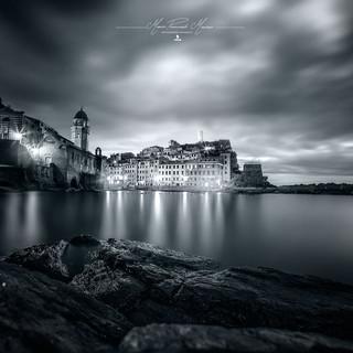 Vernazza 5 terre Liguria by Mario Piercarlo Marino