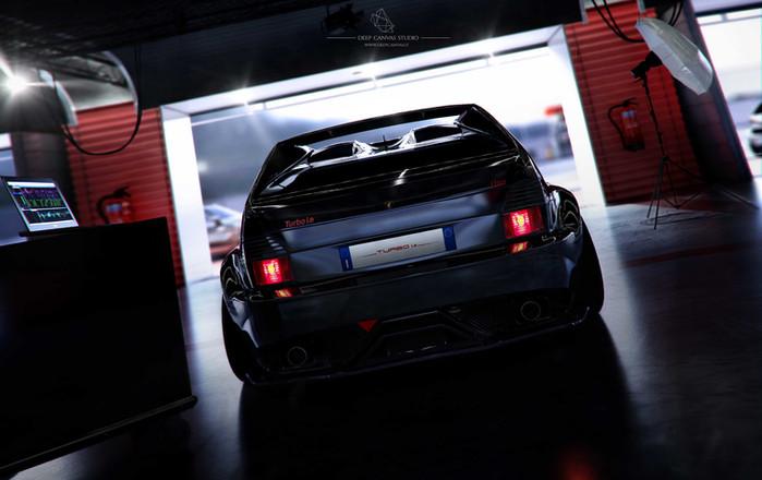 Set_garage_Uno-turbo-motore_cam6-back-_0