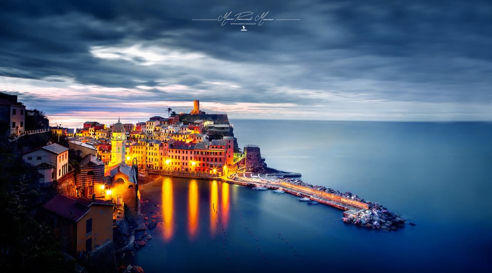 Vernazza sunrise Italy photo by Mario Piercarlo Marino