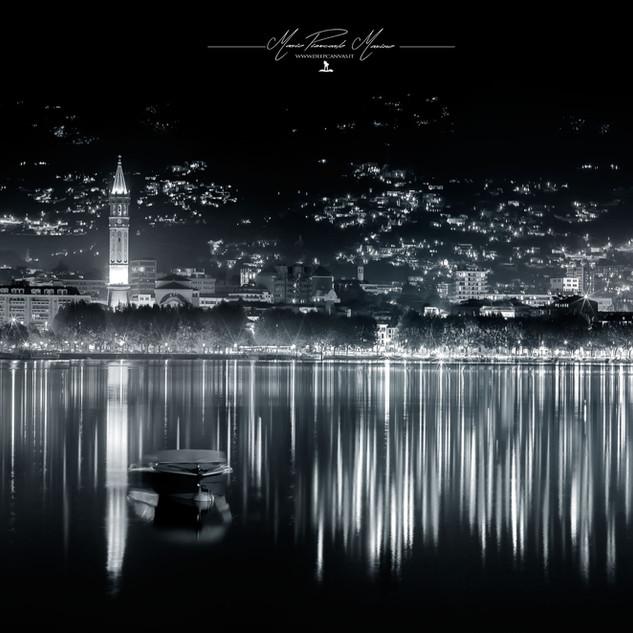 Lecco Lungo lago by Mario Piercarlo Marino