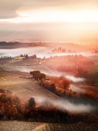 San-Gininiano Tuscany
