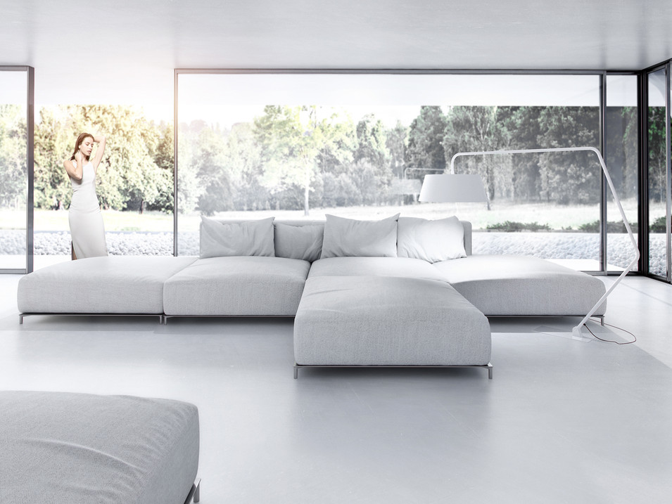 L-house  interiors view 2