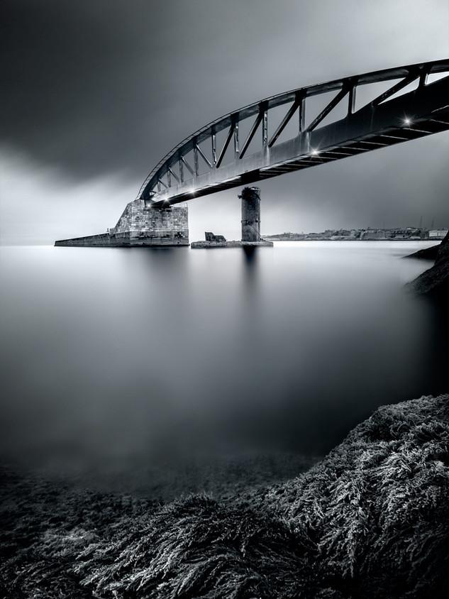 Ponte Valletta by  Mario Piercarlo Marino