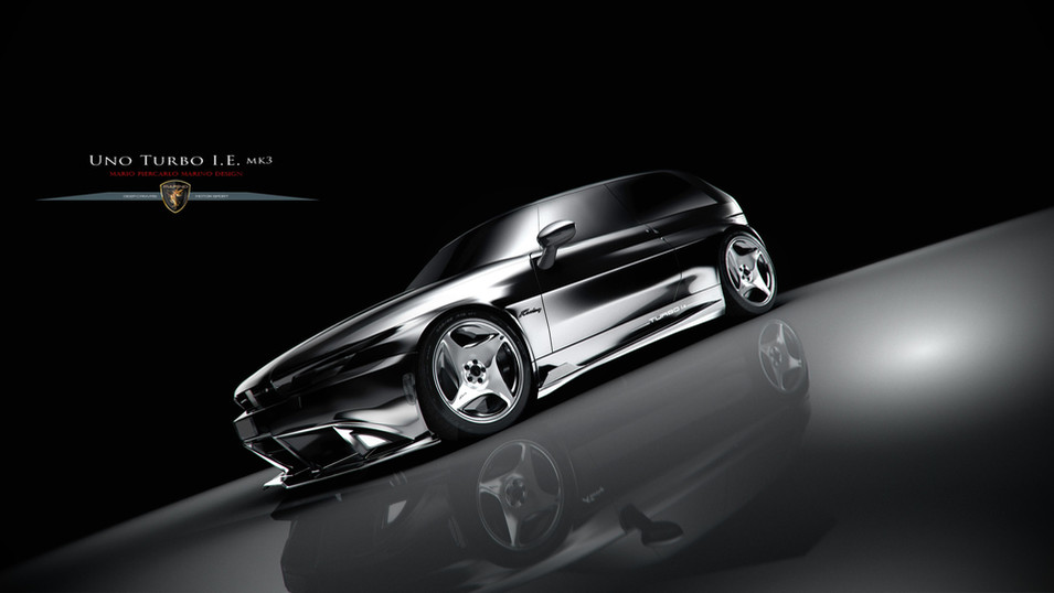 Uno Turbo i.e. mkIII Car Render 2019