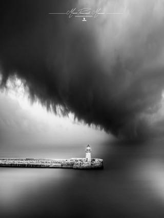 Malta La Valletta Faro Porto by  Mario Piercarlo Marino