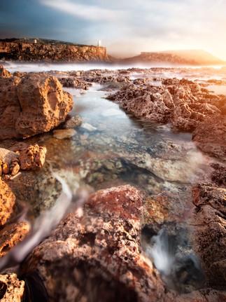 Golden bay photo by Mario Piercarlo Marino