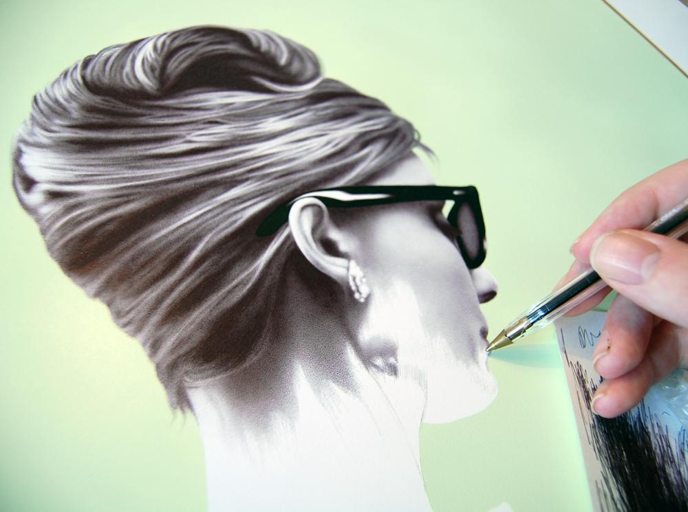 """""""Hepburn Pearls"""" - progress"""