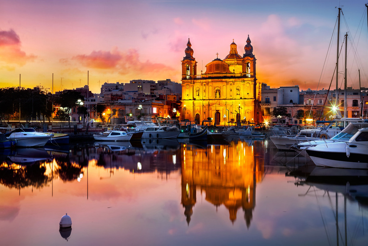 Malta Church Msida photo by Mario Piercarlo Marino