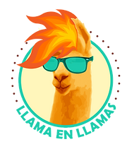 Llama En Llamas logo - chilean food - catering, pop-ups, special events