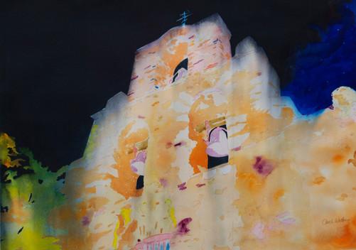 Stormy Stand - Cheap Joe's Award Texas Watercolor Society Show 2013