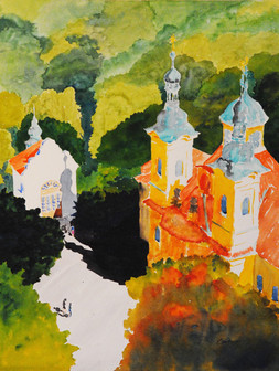 St. Lawrence Cathedral - Honorable Mention WWG Spring Show 2015