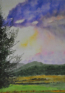 Valley Sunset