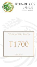 T1700 - Celozrnná žitná mouka