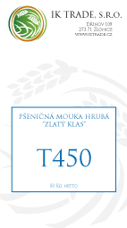 T450 - Hrubá chlebová mouka