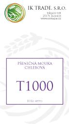T1000 - Chlebová pšeničná mouka