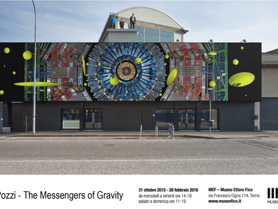 Luca Pozzi / The messengers of Gravity / Museo Ettore Fico, Turin